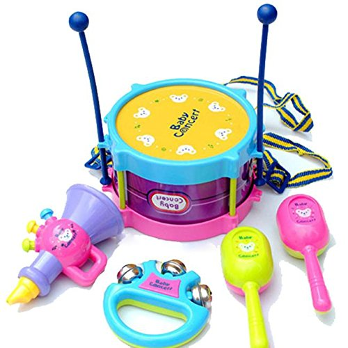 Faionny Brum Musical Instrument Toy Children's Christmas and Birthday Presents Education Toys Souptoys Free)