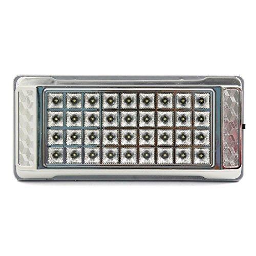 eDealMax Blanc Intrieur Toit Plafond Panneau Festoon LED Dme Lampe pour voiture vhicule