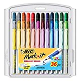 BIC Marking Permanent Marker Fashion, Fine Point, 36-Count, Assorted (Pack of 4)