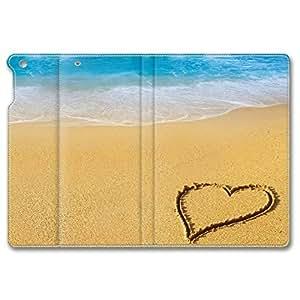 Blue Beach Theme Leather Cover for iPad Air,iPad 5