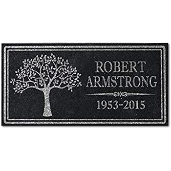 Amazon Com In Loving Memory Personalized Granite