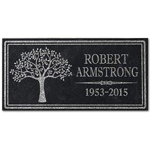 Discount In Loving Memory Personalized Granite Memorial Stone Sympathy Remembrance Gift Dad Mom Child Memory hot sale