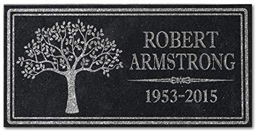 in Loving Memory Personalized Granite Memorial Stone Sympathy Remembrance Gift Dad Mom Child Memory