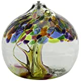 Kitras 6-Inch Oil Lamp Tree of Enchantment, Summer