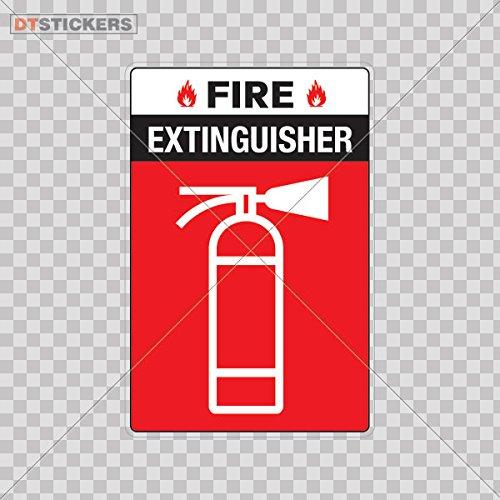 Amazon.com: Vinyl Stickers Decals Vinyl Extinguisher Fire ...