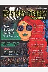 Mystery Weekly Magazine: November 2017 Paperback