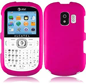 For Alcatel One Touch OT871A Hard Cover Case Hot Pink Accessory
