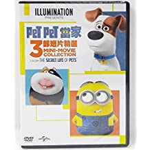Mini Movie Collection From Secret Life of Pets (Region 3 DVD / Non USA Region) English Language. Mandarin & Cantonese Dubbed. PET PET 當家三部短片精選