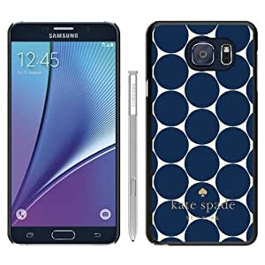 DIY Hot Sale Samsung Galaxy Note 5 Case,Kate Spade 226 Black New Design Samsung Galaxy Note 5 Phone Case