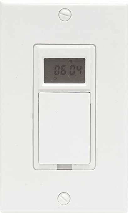 51RCxmAWzdL._SY679_ ge 15086 single pole single throw 7 day digital timer, white ge 15086 wiring diagram at gsmx.co