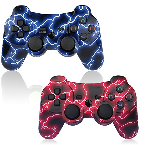ps3 blue controller - 4