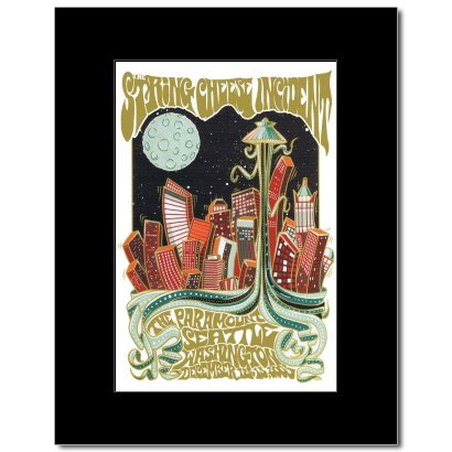 STRING CHEESE INCIDENT - Paramount Seattle Wa 2003 Matted Mini Poster -