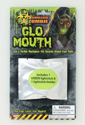 [Biohazard Mouth Glow Light Stick Accessory Size One-size] (Biohazard Costumes)