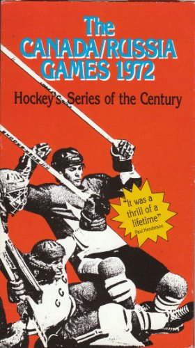 The Canada/Russia Games 1972: Hockey's Series of the for sale  Delivered anywhere in USA