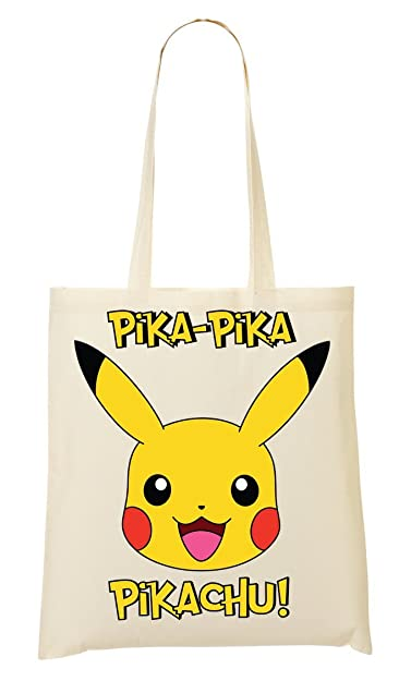758332d1bf4b Pokemon Pacman Monster Funny Cute Shopping Tote Bag  Amazon.co.uk  Shoes    Bags