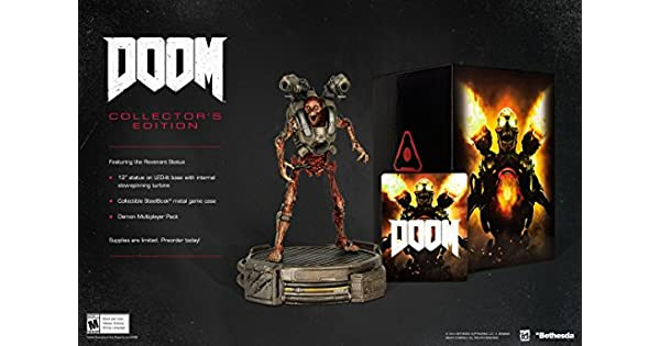 Doom: Collectors Edition - Xbox One by Bethesda: Amazon.es ...