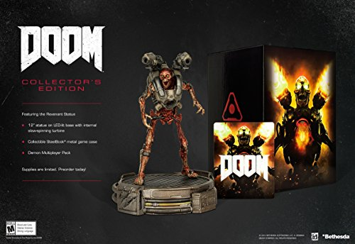 2016 Collectors - Doom: Collector's Edition - Xbox One [video game]