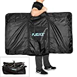 CamGo Folding Bike Travel Bag Bicycle Carrier Case Outdoors Carrying Bag for 26inch Bike, Black (Black, 26 inch)