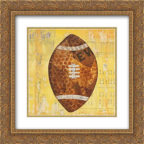 - Play Ball II 15x15 Gold Ornate Frame and Double Matted Art Print by Prahl, Courtney
