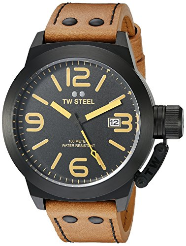 TW-Steel-Mens-CS42-Analog-Display-Quartz-Brown-Watch