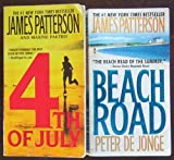 Lot of 2 James Patterson Paperback Books (4th of July ~ Beach Road)