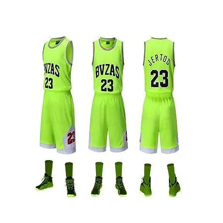 ZXQW NBA Baloncesto Uniformes Juego De Traje De Baloncesto ...
