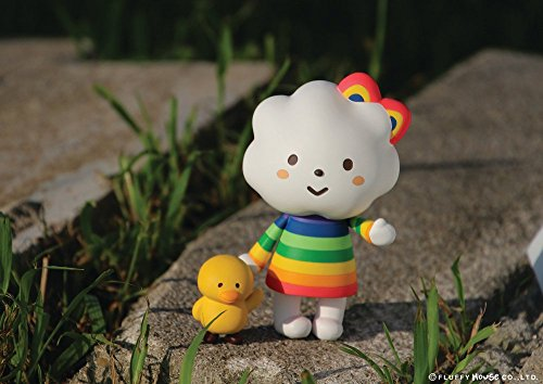 Fluffy House - Miss Rainbow & Chicky 3.0 Designer Vinyl Toy Figure By Fluffy House