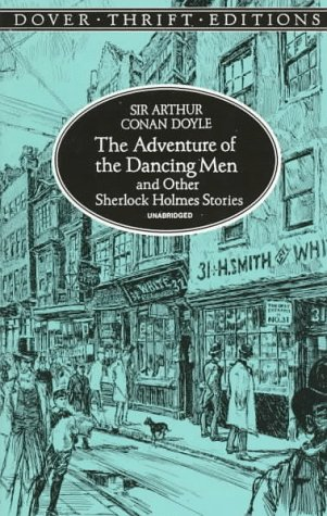 Book cover for The Adventure of the Dancing Men