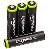 AmazonBasics AAA Rechargeable Batteries (4-Pack) Pre-charged - Packaging May Vary