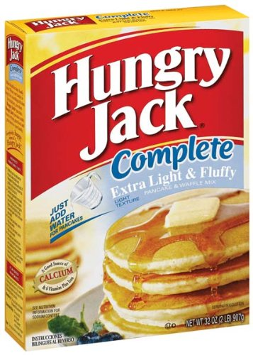 (Hungry Jack Complete Extra Light & Fluffy Pancake & Waffle Mix 32 oz (Pack of 12))