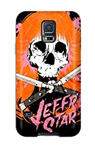 Durable Defender Case For Galaxy S5 Tpu Cover(artistic Jeffree Star Skull By Xdyego) 6397633K40758564