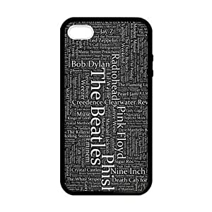 The Beatles Band Signs Case for iPhone 5 5s case
