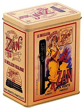 BOITE METAL DECORATIVE 12X8X15cm PUB RETRO BONBON REGLISSE ZAN ...
