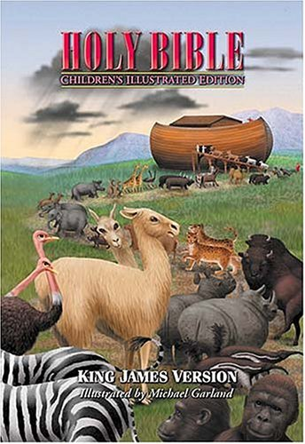 Holy Bible, Children's Illustrated Edition Beautiful Art To Draw Kids Into The Scriptures PDF