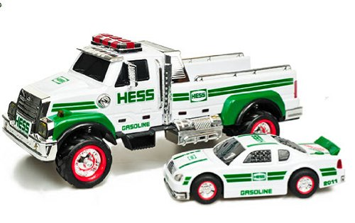 2011 Hess Toy Truck And Race Car Toys Games