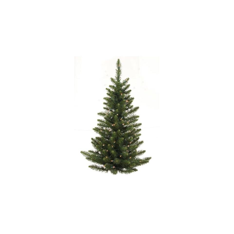3 Pre Lit Camdon Fir Artificial Christmas Wall or Door Tree   Clear Lights