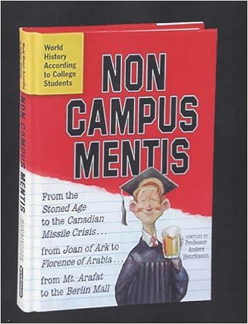 Book Non Campus Mentis