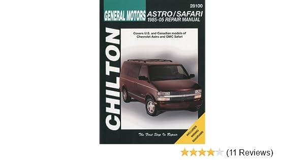 2001 gmc safari owners manual