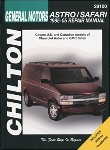 chilton 2005 chevy astro manual