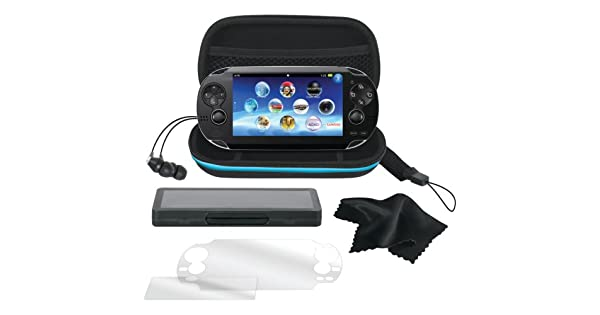 Amazon.com: DreamGEAR Playstation Vita 7 in 1 Starter Kit ...