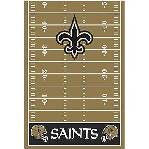 NFL New Orleans Saints Plastic Table Cover (Saints Party Decorations)