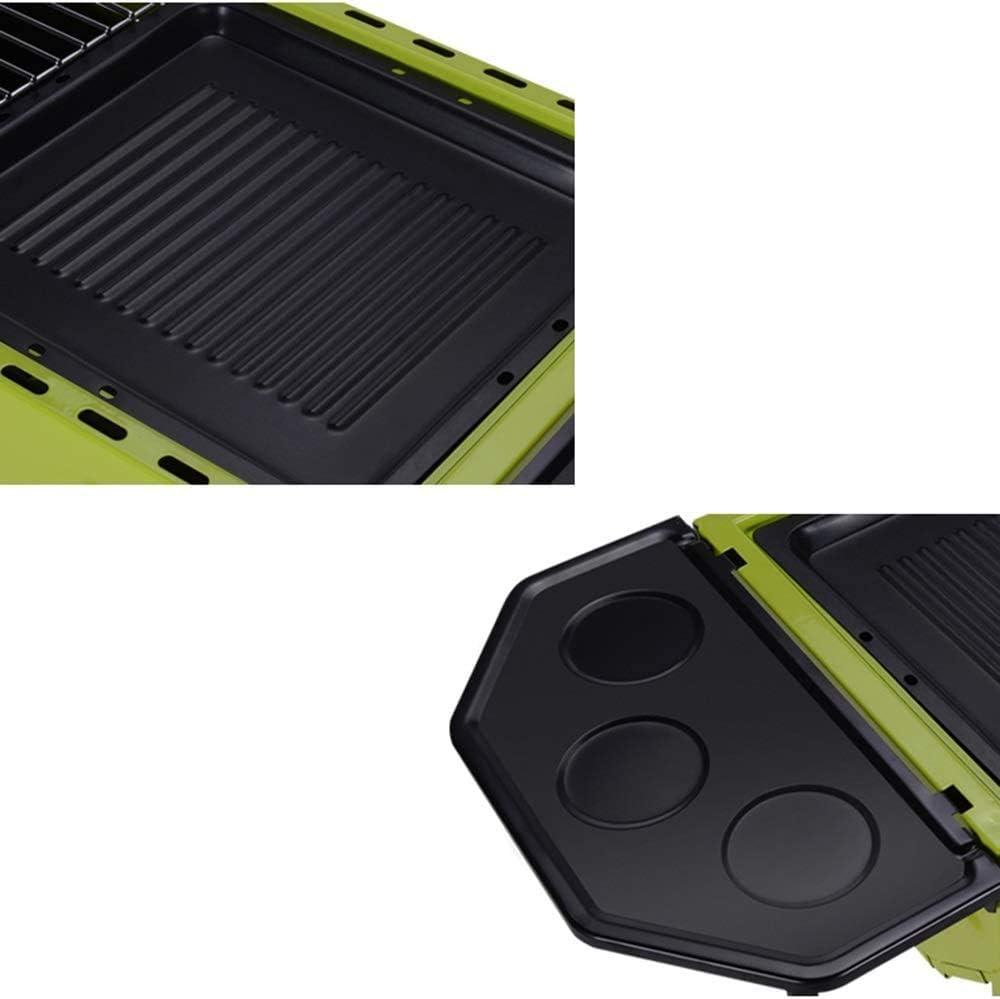 Grand barbecue de style japonais grill barbecue portable 5 ou plus vert,Green Green