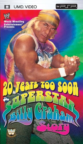 WWE: 20 Years Too Soon - The Superstar Billy Graham Story [UMD for (Too Soon Costumes)
