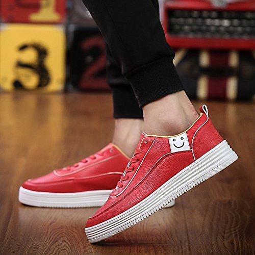 piccole Wuyulunbi con Sneakers Gules bianco scarpe wqxaEqfr