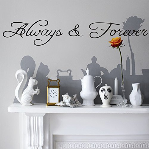 Vinyl Wall Decal Decoration Always and Forever