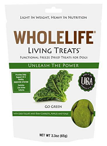 Whole Life Pet Living Treats For Dogs-Digestive Support With Yogurt And Kale, 2.3-Ounce For Sale