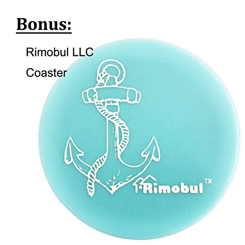 Rimobul Lace Wedding Garters with Toss Away - Set of 2 (Light Blue)