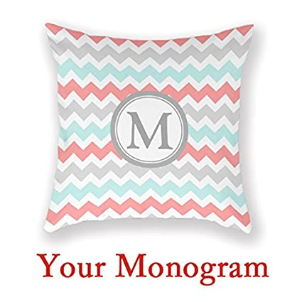 amazon com antoniaday custom monogram pillow decor cushion
