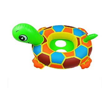 973d1532516 Image Unavailable. Image not available for. Color  Kangkang  Turtle Ride-on  Baby Floats Seat Pool Floats Tortoise Sit Circle Infant Swimming