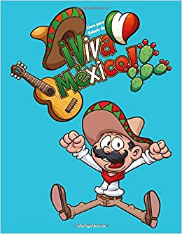 Livro Para Colorir De Viva Mexico Portuguese Edition Nick Snels